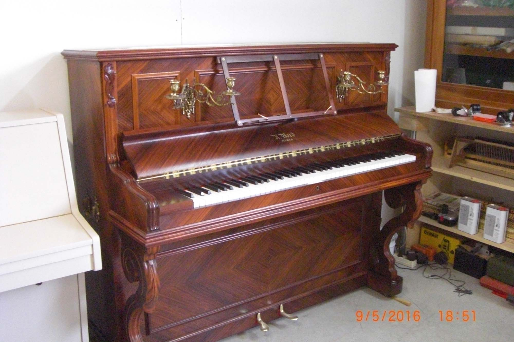 piano d 39 occasion droit bord l 39 artisan du piano en vend e. Black Bedroom Furniture Sets. Home Design Ideas