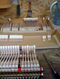 Révision mécanique pianos - l'Artisan du Piano