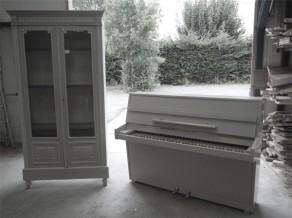 restauration complète et relooking de piano