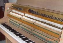 Piano droit MAG (GAVEAU) en chêne bicolore mat